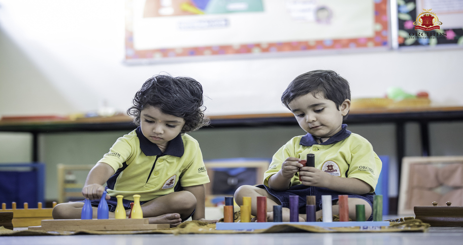 identify shape and colour in a nursery admission interview