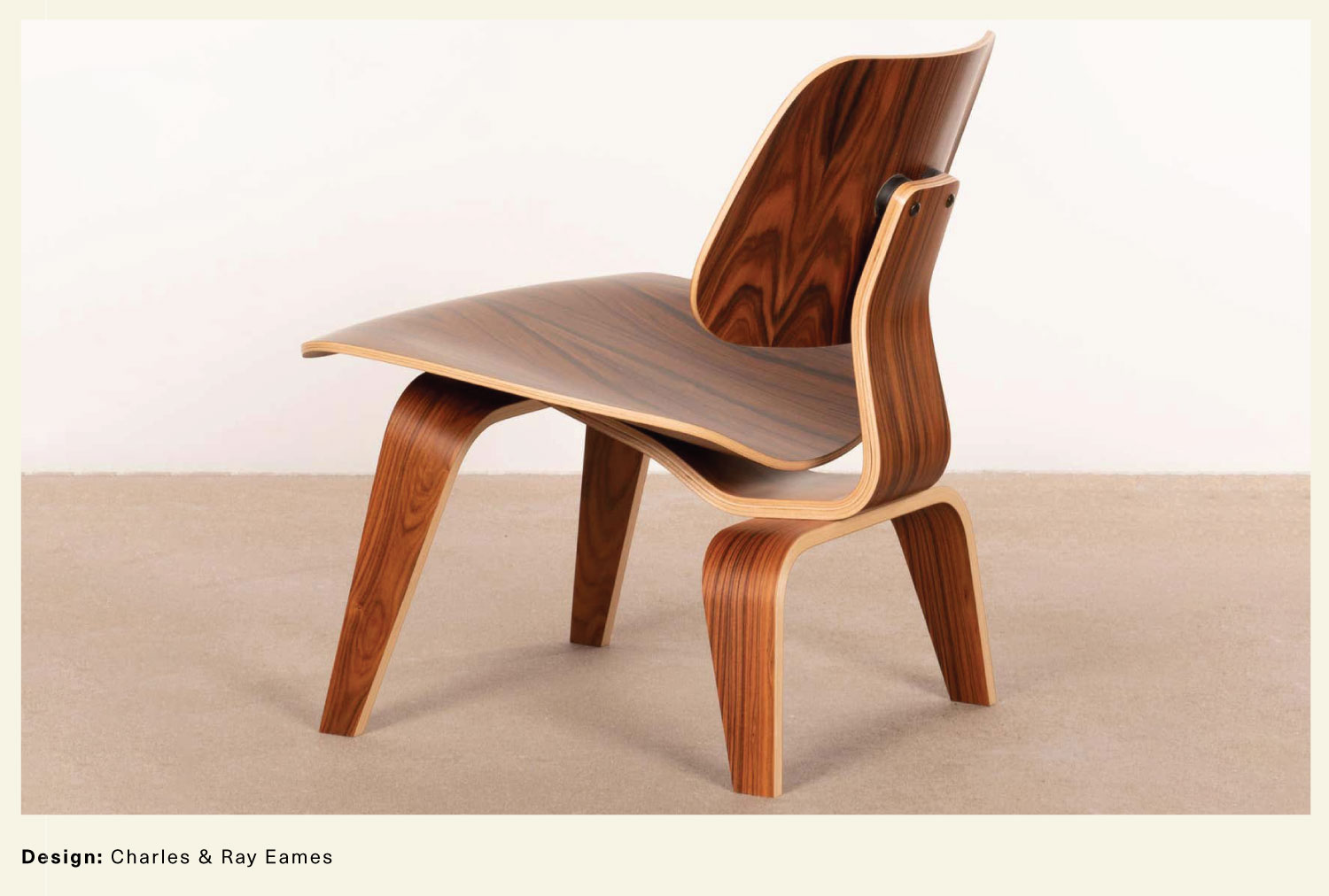 Charles & Ray Eames LCW chair
