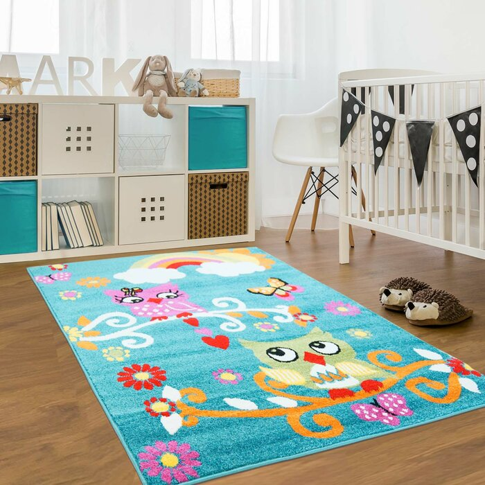 Multicolour Kids Area Rug