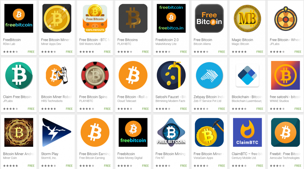 BTC earn apps