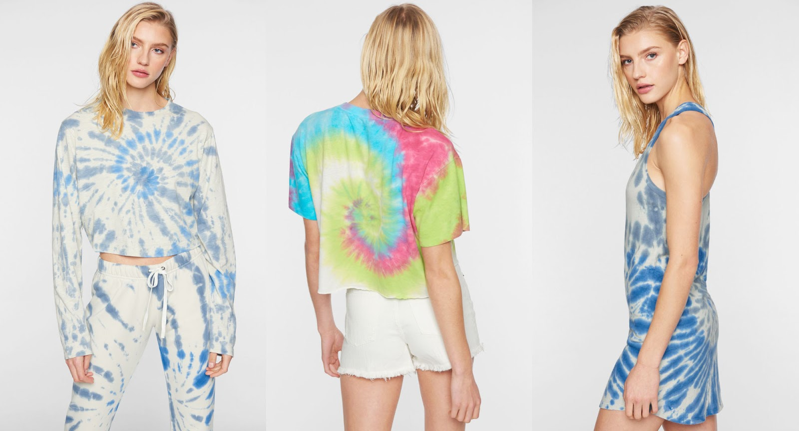 Pam & Gela tie dye collection