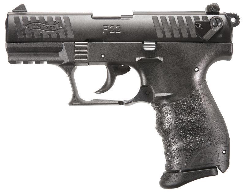Walther P22 Black Rimfire Pistol