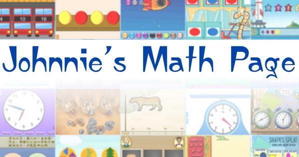 johnnie's math page