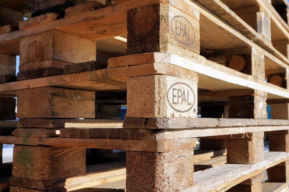 Wie viel Holz hat eine Europalette?