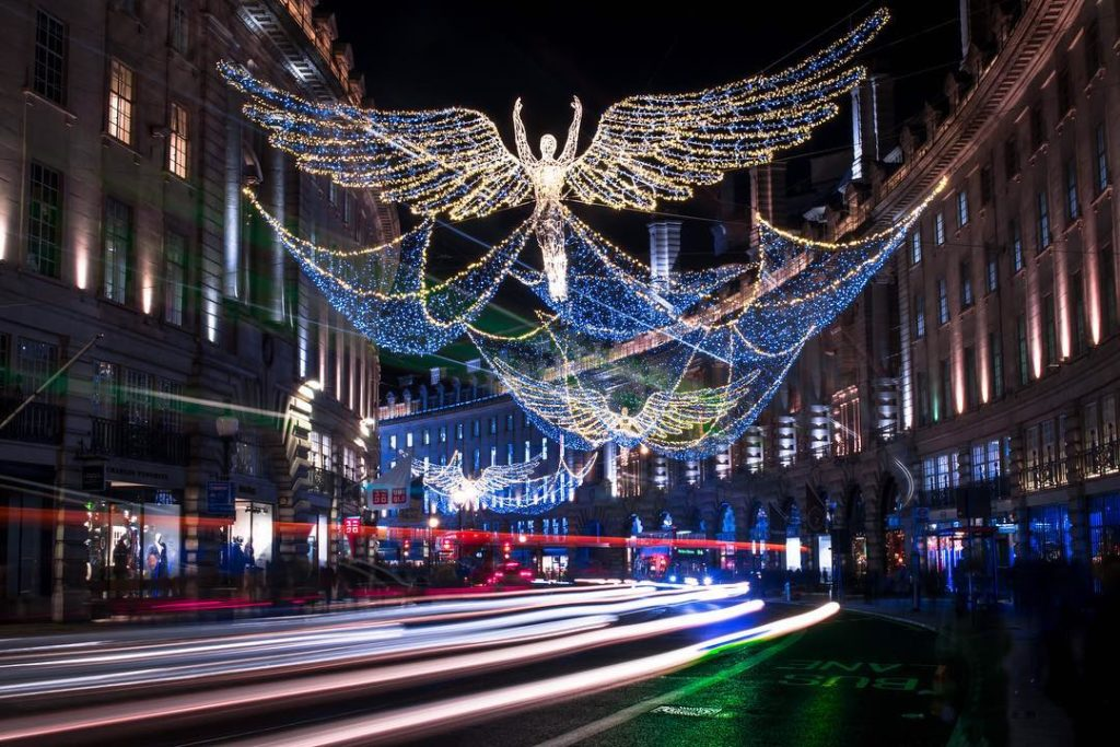 英国活动 摄政街圣诞点灯 | Regent Street Christmas Lights Switch On