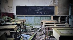 Image result for deserted school