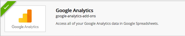 Complemento Google Analytics
