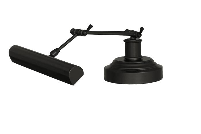 Upper Side View of 14 LED Piano Desk Lamp Oil Rubbed Bronze