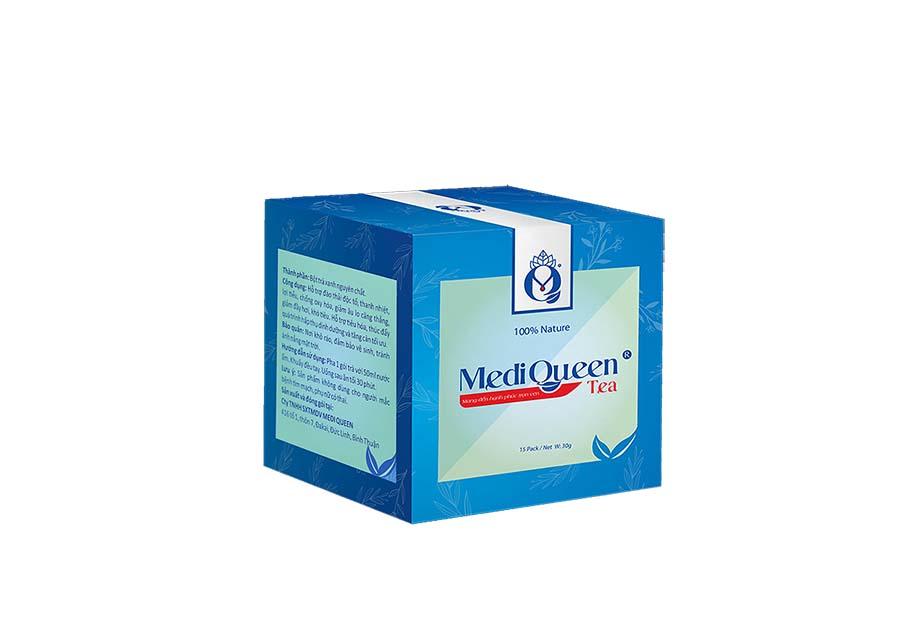 trà mediqueen - 1 trong các cách tăng cân tại nhà