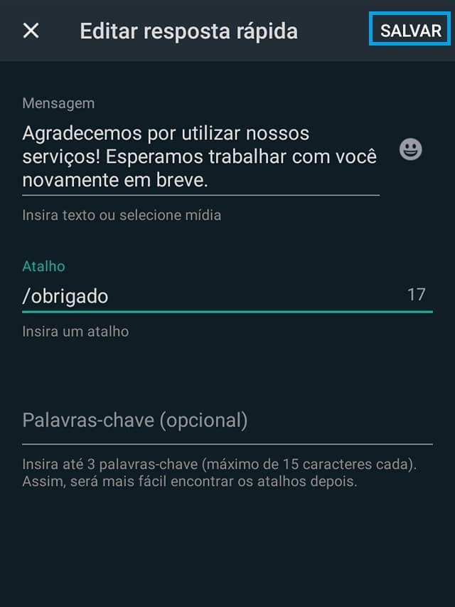 WhatsApp Business Como Configurar Mensagens Automáticas [Tutorial 2021] 18