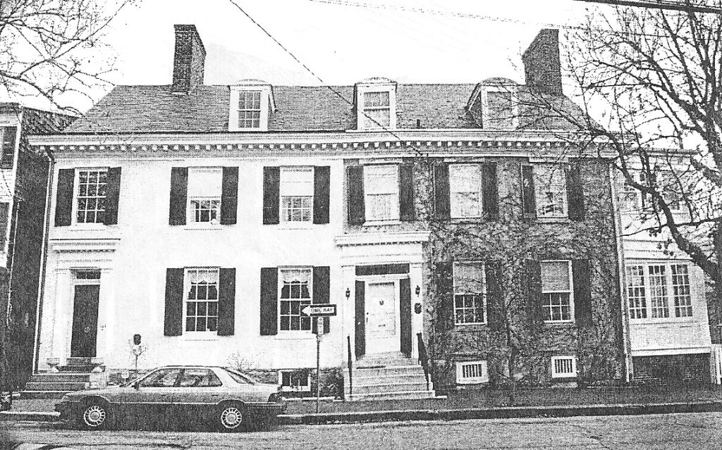 History of the Annapolis Inn Murray House