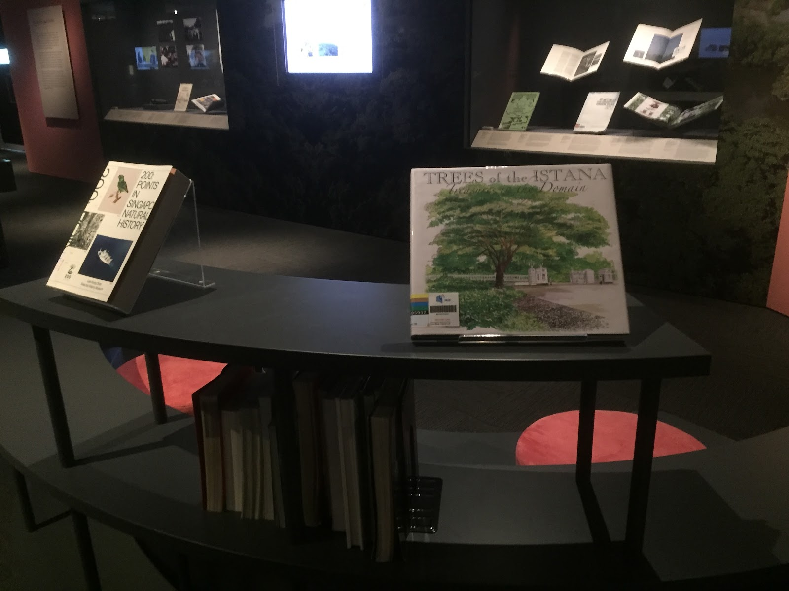 Pick up a book about natural history at the exhibition's reading corner! Pick up a book about natural history at the exhibition's reading corner!