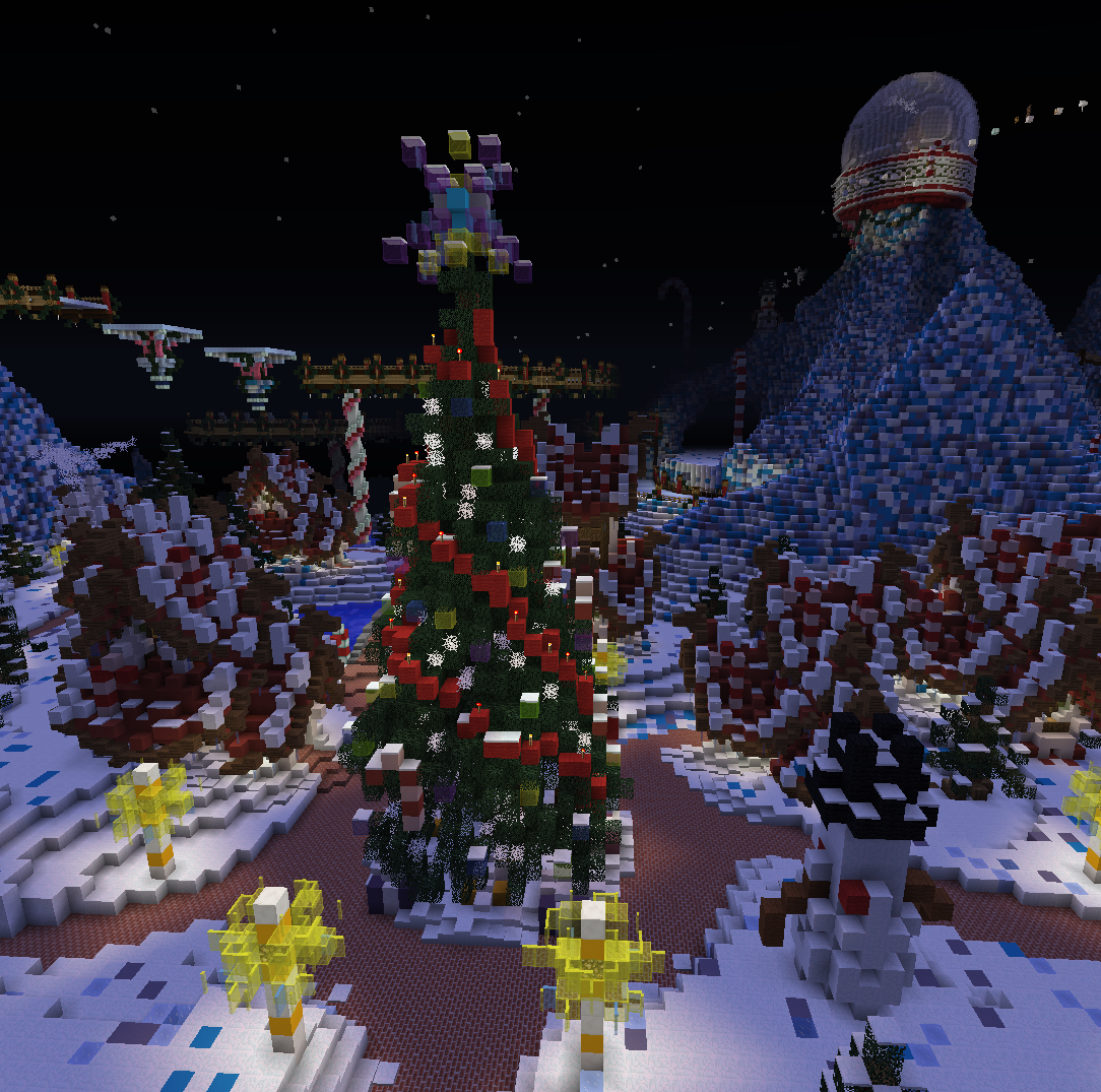 Christmas Minecraft World.Meeptimes 71 The Bug Fix Christmas Edition Meepcraft