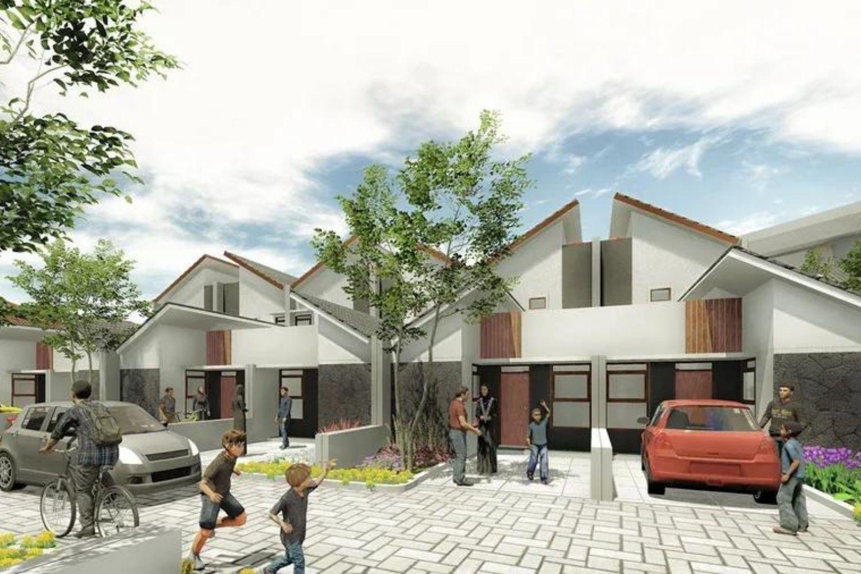 rumah cluster minimalis