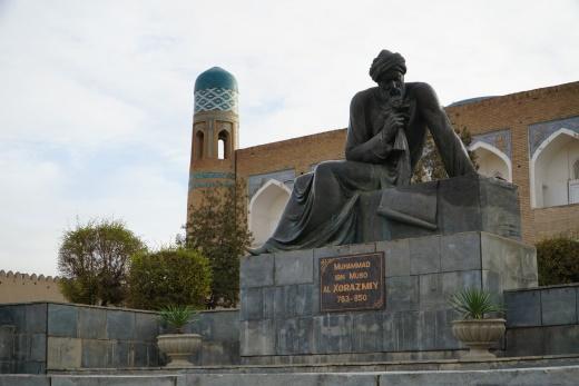 D:\WORK\Kultur\Hien_Kultur\UZB_Usbekistan\Fotos\UZB17_5182_Chiwa_Muhammad ibn Musa al-Chwarizma.jpg