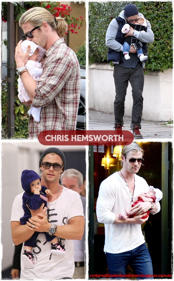 Chris Hemsworth e India Rose