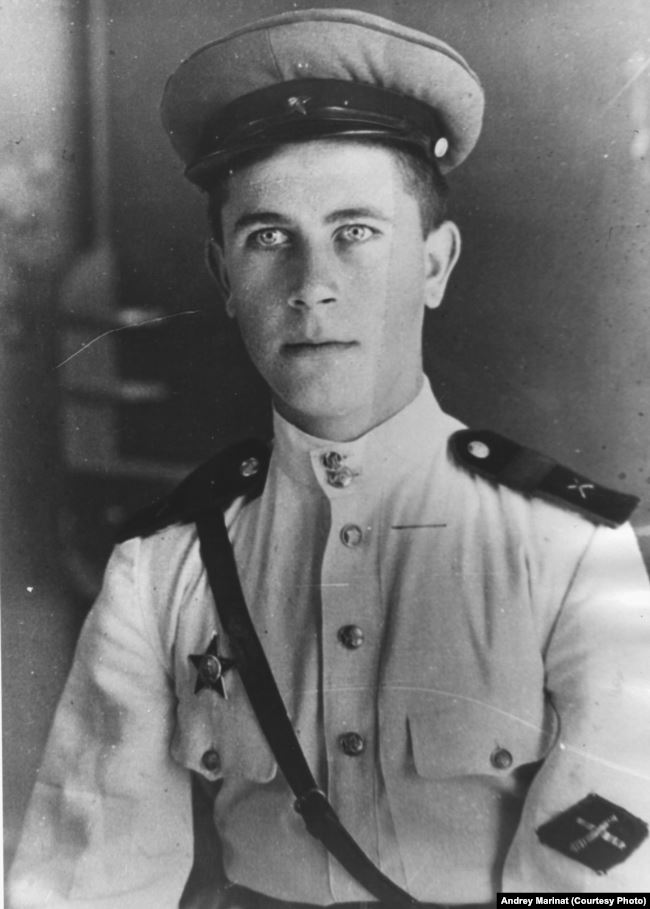 Алексей Маринат – кавалер ордена Красной звезды, 1945