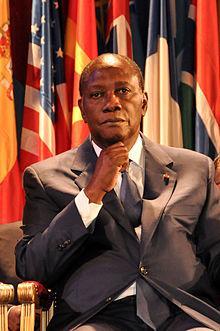 Alassane Ouattara en 2011.