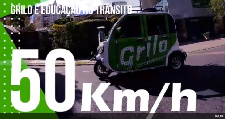 App Grilo promete ser alternativa sustentável a trajetos de automóvel.
