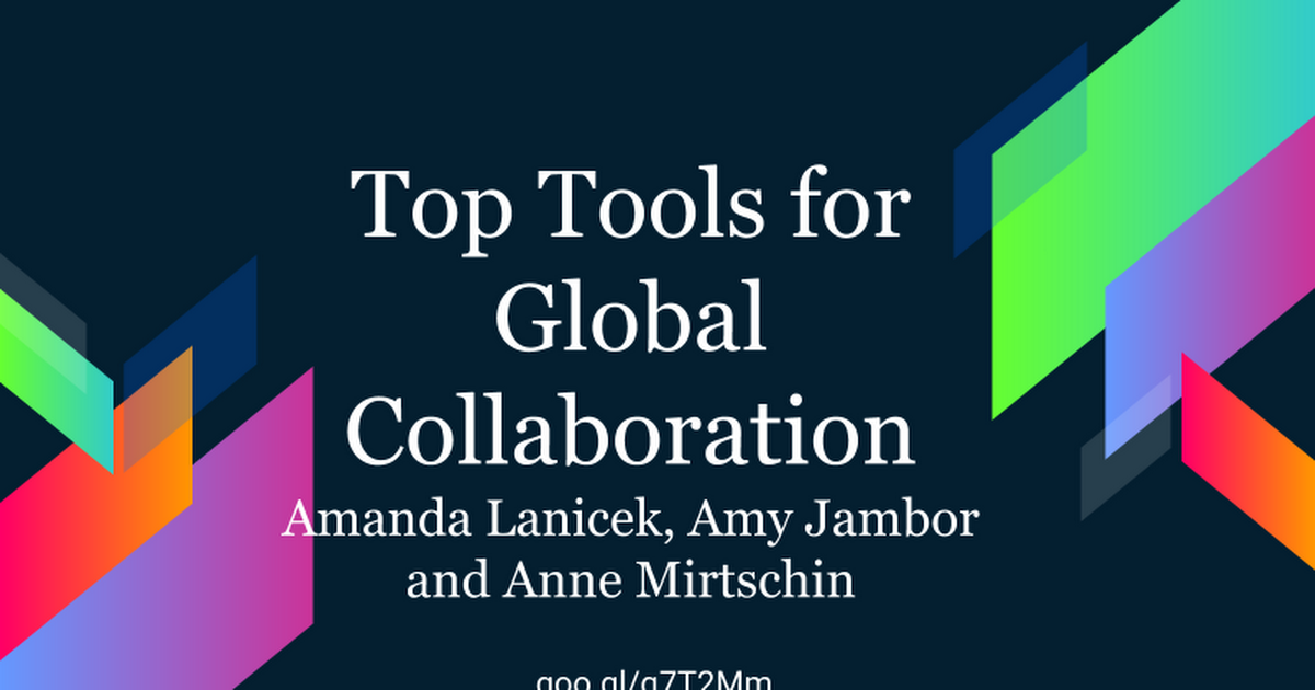 Top Tools for Global Collaboration