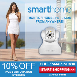 Monitoring your, kids, pets and home just got easier.