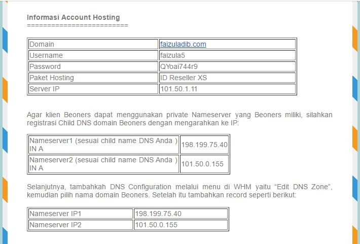 mengelola reseller hosting
