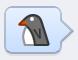 smiley pingouin
