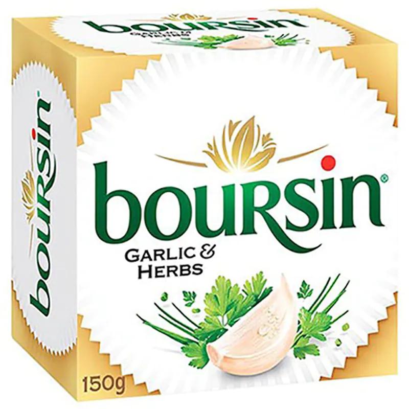 8. Boursin Cream Cheese with Garlic and Herb 150 g. ราคา 279 บาท