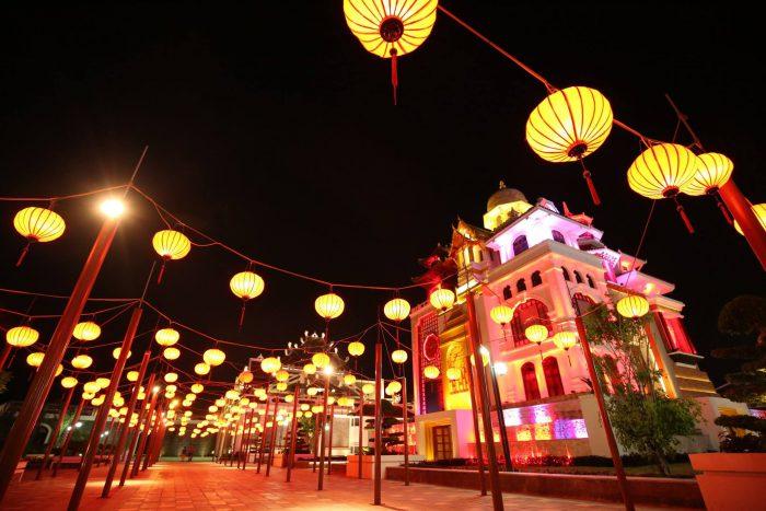 Lễ hội đèn lồng tưng bừng khắp Trung Quốc
