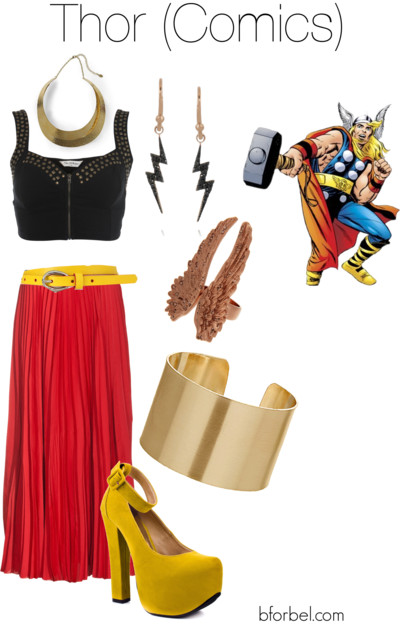 thor avengers outfit idea