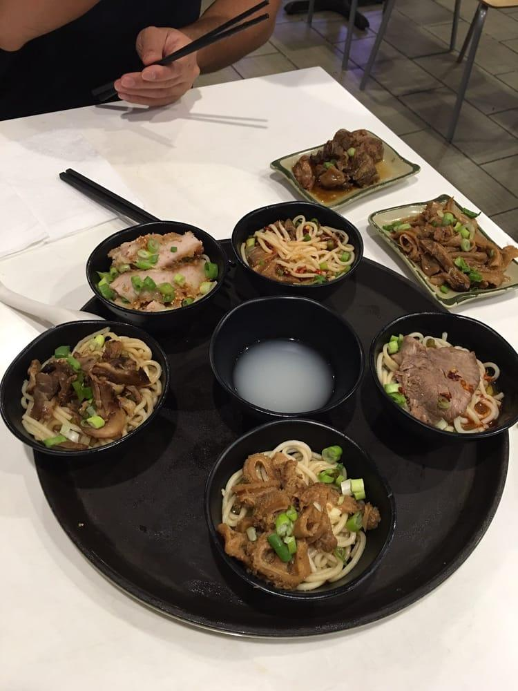 Photo of Classic Guilin Rice Noodles - Oakland, CA, United States. Sample of different soup they have