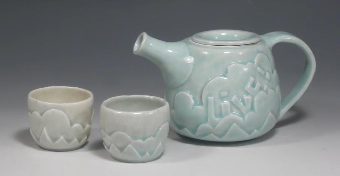 Make a matching teapot and mug set.