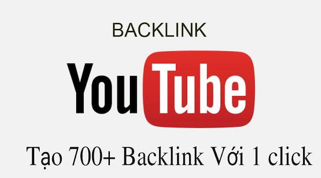 Bạn cần khai báo backlink youtube