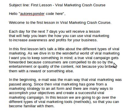 viral marketing tips tutorial