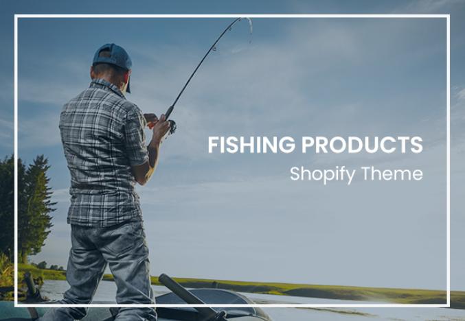 responsive Fishing store shopify theme