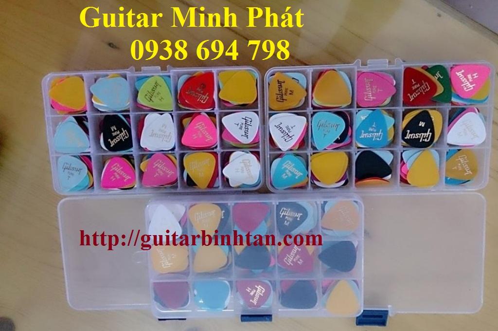 Phụ kiện guitar Bao đàn,phím gảy,capo, dây đàn rẻ nhất HCM - 7