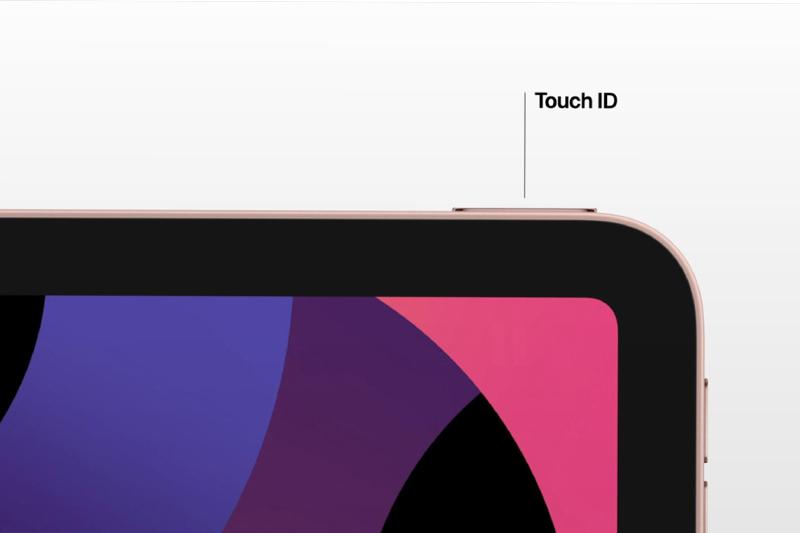 Touch ID tích hợp nút nguồn mở khoá nhanh chóng | iPad Air 2020