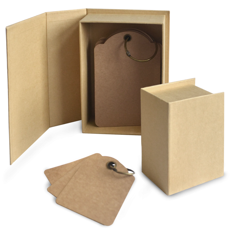 Staples - ATC Book Box - Kraft