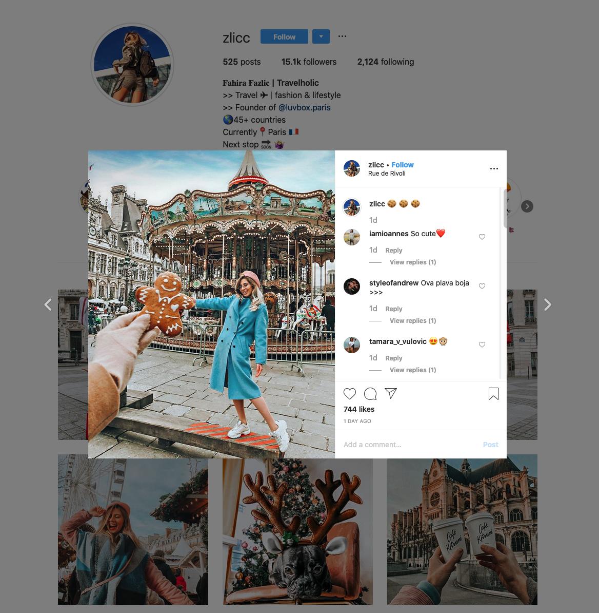 Fahira Fazlic | Travelholic | Instagram Profile