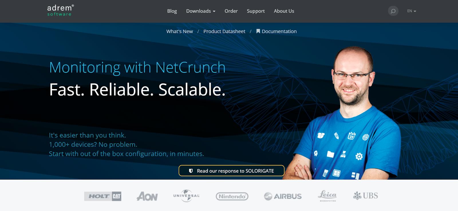 NetCrunch Network Performance Monitoring Tool