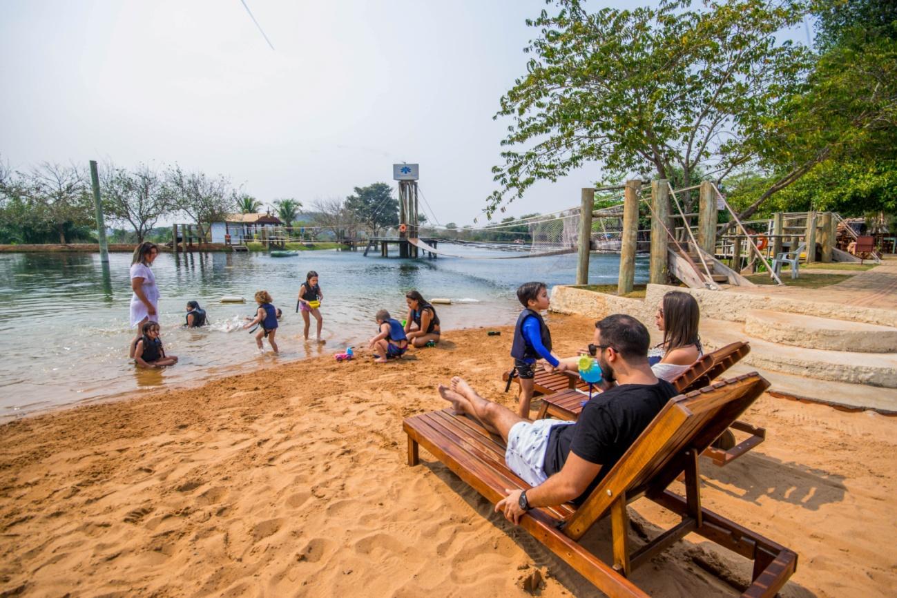 Balneário Nascente Azul – Praia de Água Doce