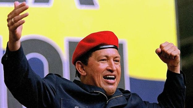10 eventos que marcaron la historia de América Latina. Hugo Chávez.