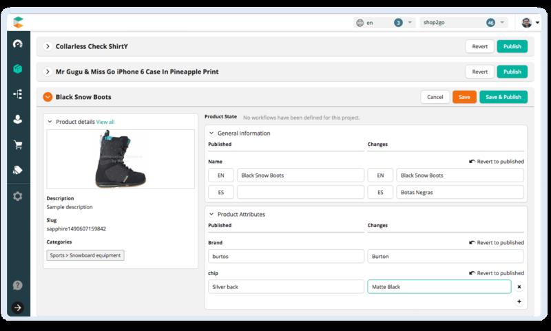 commercetools screenshot