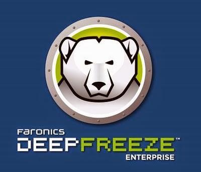 Deep Freezephần mềm đóng băng ổ cứng