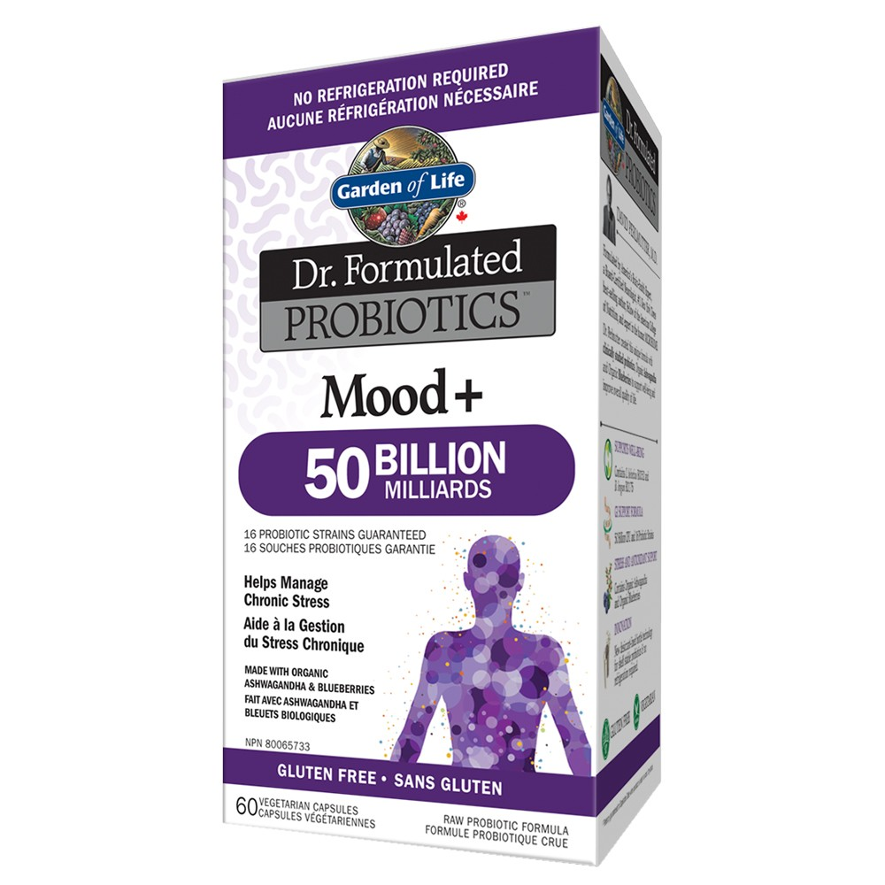 Garden of Life Dr. Formulated Probiotics Mood+ 50 Billion / Shelf Stable