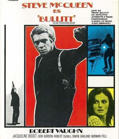 Bullitt (1968, Peter Yates)