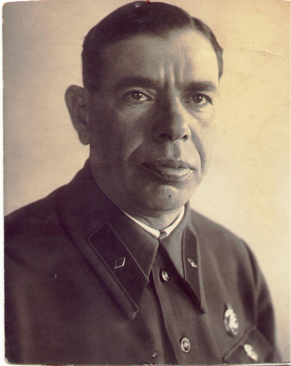 Іван Каляєв у формі майора держбезпеки. Не раніше 1937 року. З колекції Харківського історичного музею