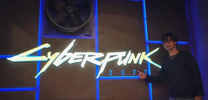 Hideo Kojima sprawdza Cyberpunk 2077