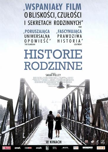 Przód ulotki filmu 'Historie Rodzinne'