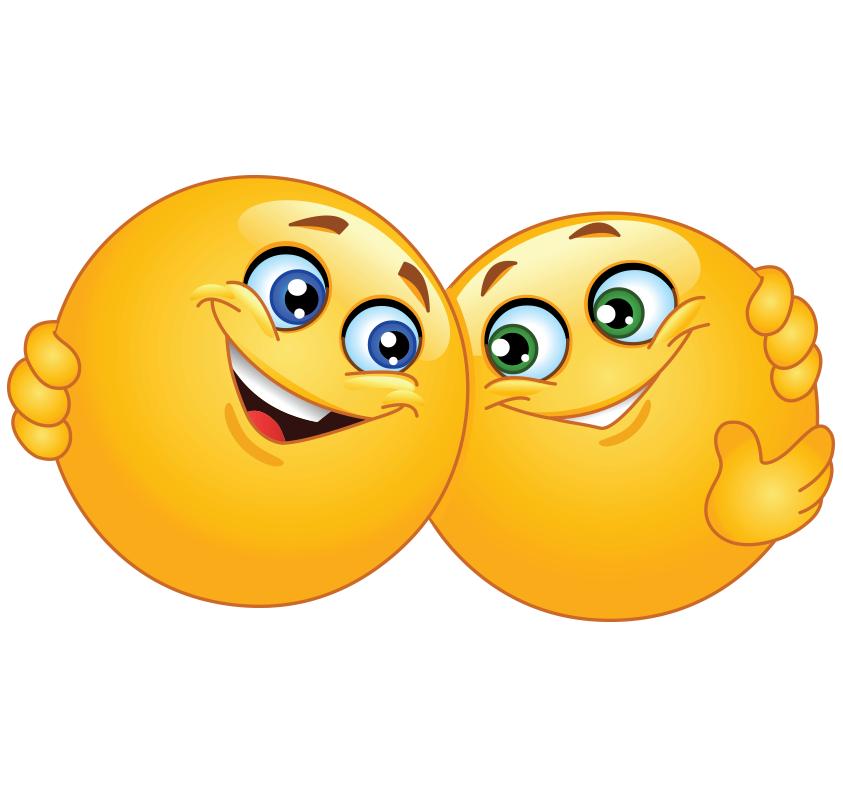 Hugging Smileys | Emotikony, Rysunki i Śmieszne gify